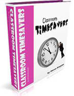 Classroom Timesavers book - printable, ready to use classroom forms that save time
